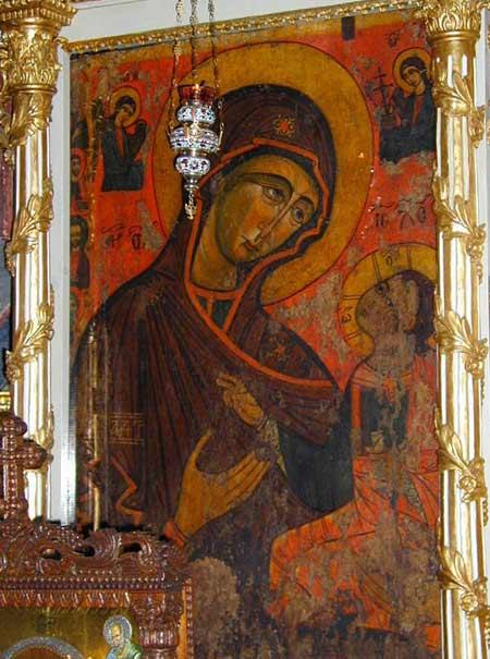 Icoana Maicii Domnului - Manastirea Dintr-un Lemn