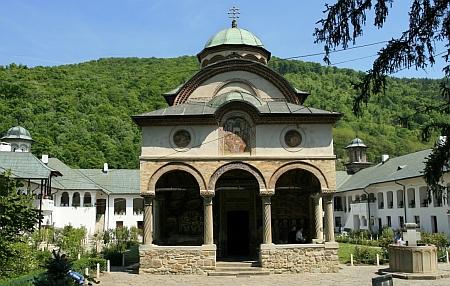 Manastirea Cozia - Sfanta Treime