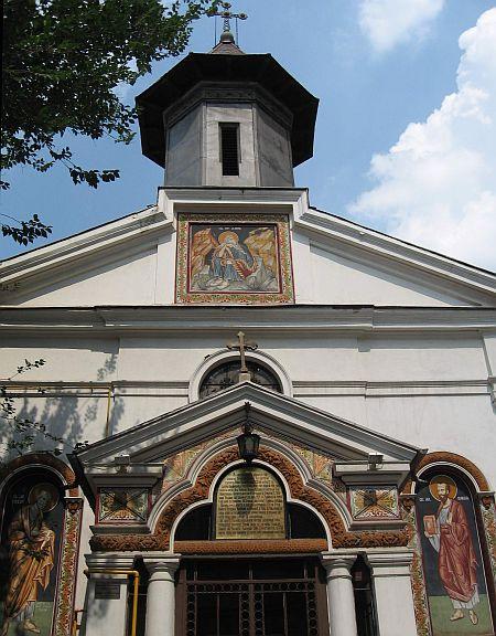 Biserica Bulgara din Bucuresti - Sfantul Ilie Tesviteanul