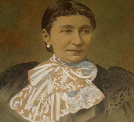 Paulina Mavros - ctitora a Bisericii Sfantul Nicolae din Moara Domneasca