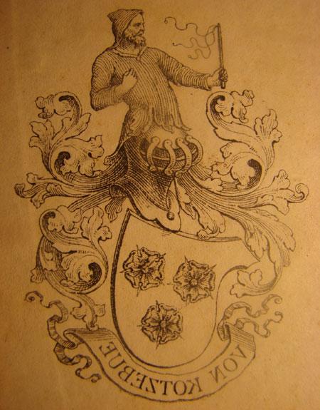 Emblema familiei Kotzebue