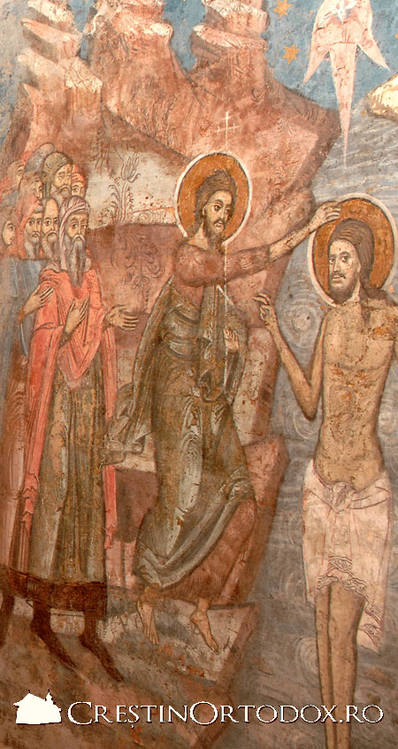 Manastirea Vacaresti - Botezul Domnului