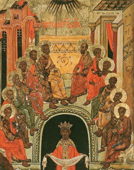 Pogorarea Sdfantului Duh - Cincizecimea - Rusaliile