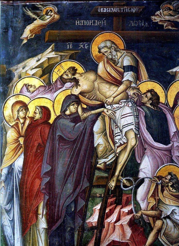 Iosif din Arimateea - Coborarea de pe cruce
