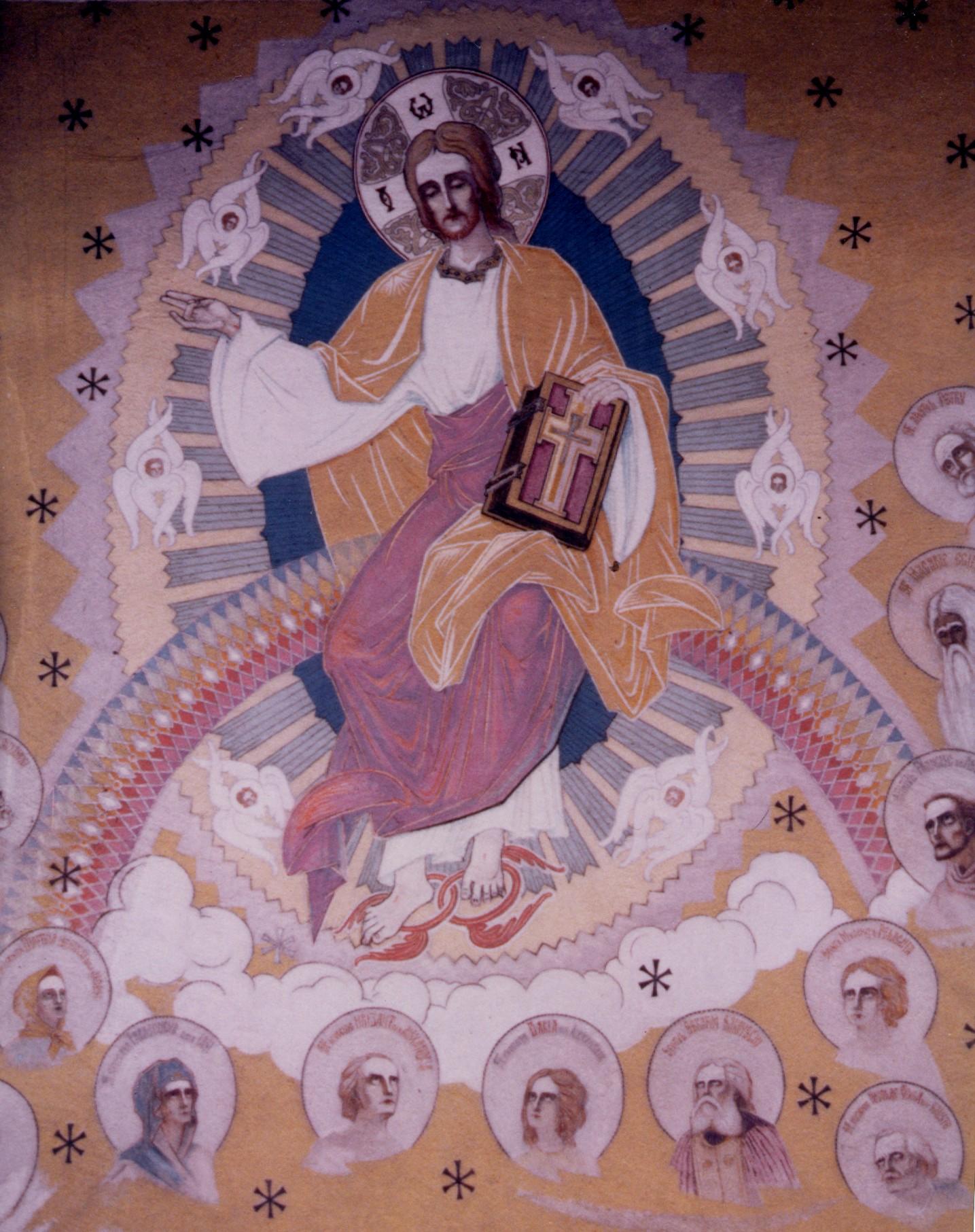 Parintele Arsenie Boca - pictorul de la Biserica Draganescu