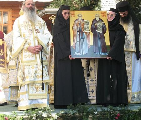 Sfintii Rafael si Partenie de la Agapia Veche