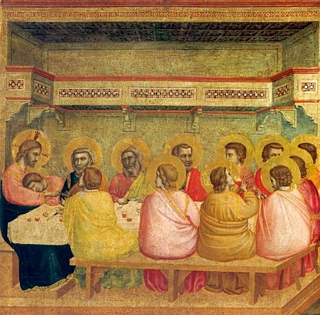 Cina cea de Taina - Giotto