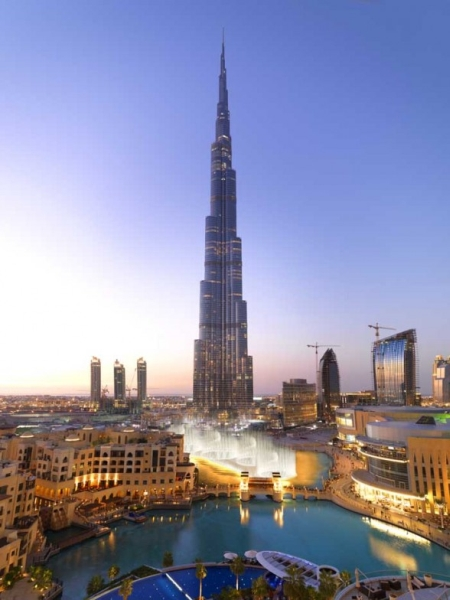 Burj Khalifa din Dubai - Emiratele Arabe Unite
