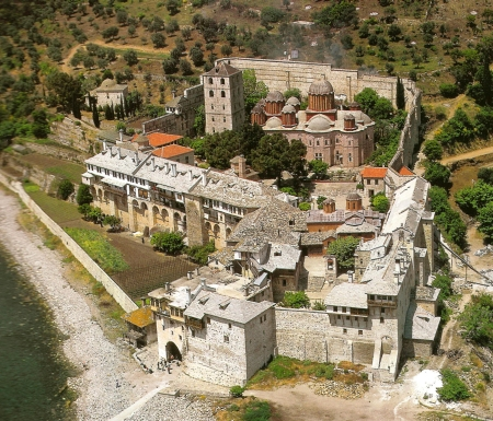 Manastirea Xenofont - icoana Maicii Domnului Indrumatoarea