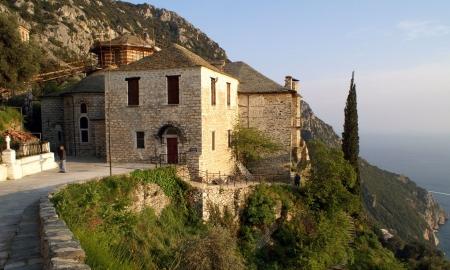Moastele Sfintei Ana - Schitul Sfanta Ana din Sfantul Munte Athos