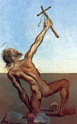 Salvador Dali - Ispitele Sfantului Antonie cel Mare