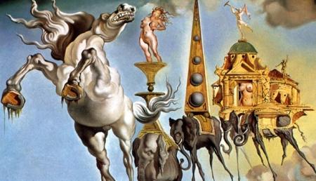 Salvador Dali - Ispitele Sfantului Antonie