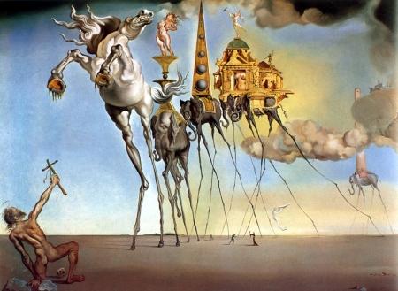 Salvador Dali si Ispitele Sfantului Antonie cel Mare
