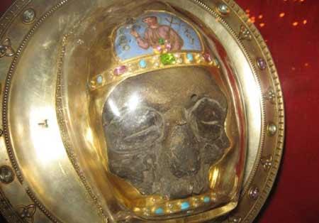 Capul Sfantului Ioan Botezatorul