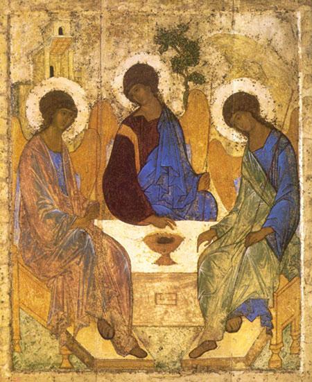 Sfanta Treime - Sfantul Andrei Rubliov
