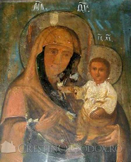 Manastirea Bisericani - Icoana Maicii Domnului