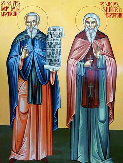 Sfintii Cuviosi Iosif si Chiriac de la Bisericani
