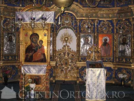 Manastirea Secu - Icoana Maicii Domnului Cipriota