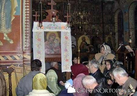 Manastirea Dervent - Icoana Maicii Domnului cu Pruncul