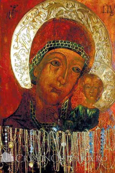 Manastirea Ghighiu - icoana cu Maica Domnului Siriaca