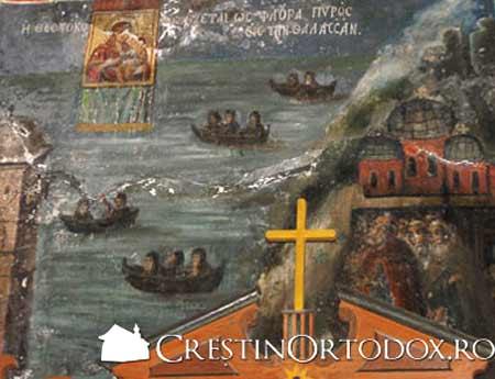 Icoana Maicii Domnului de la Iviron - Portarita