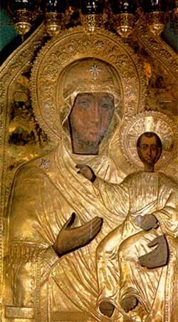 Manastirea din Smolensk - Icoana Maicii Domnului Indrumatoarea