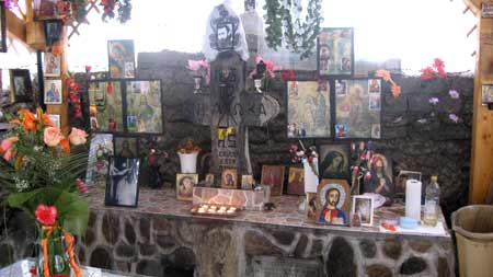 Izvorul Parintelui Arsenie Boca - Manastirea Brancoveanu