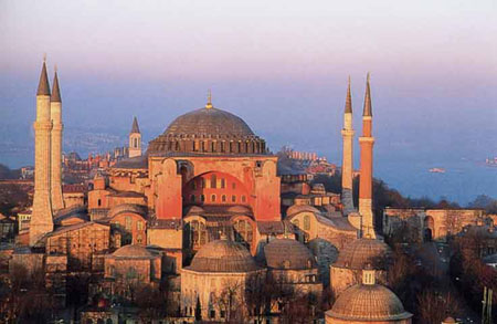 Catedrala Sfanta Sofia - Constantinopol
