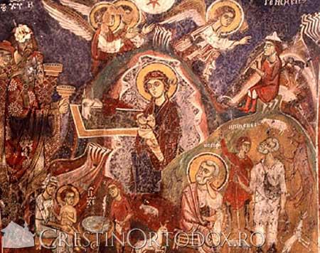 Nesterea Domnului - Biserica Omorfi, Eghina