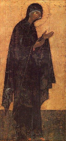 Sfantul Andrei Rubliov - Maica Domnului