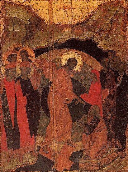 Sfantul Andrei Rubliov - Pogorarea la Iad