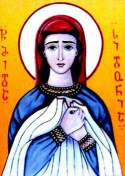 Sfanta Sidonia a Georgiei cu Camasa lui Hristos