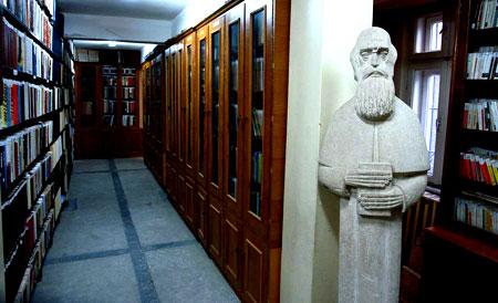 Biblioteca din Manastirea Rohia