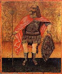 Sfantul Mucenic Hristofor - sfantul cu cap de caine
