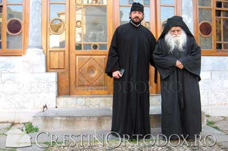 Parintele Iulian Lazar de la Prodromu si Parintele Gheorghe