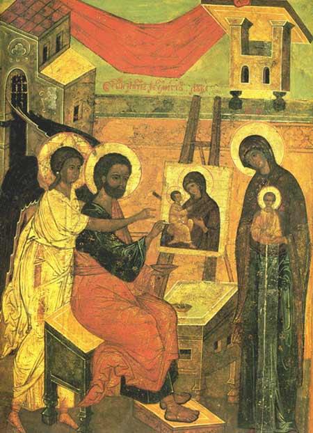 Sfantul Luca - zugravul Maicii Domnului