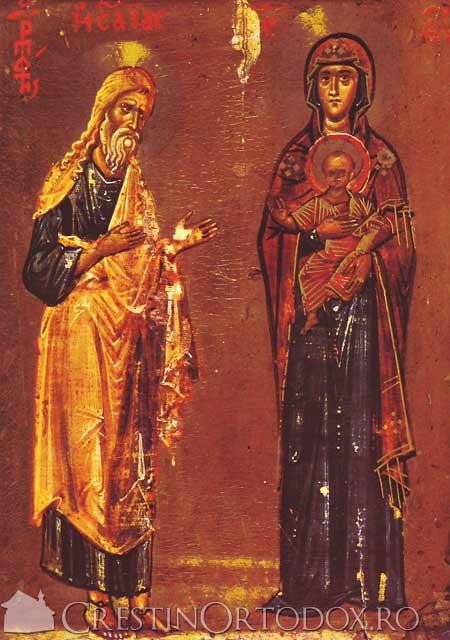 Rugul Aprins - Isaia si Maica Domnului