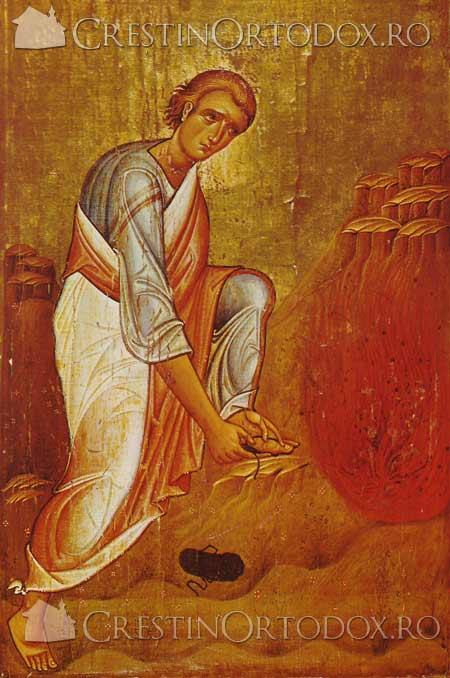 Rugul Aprins - Moise pe Muntele Horeb
