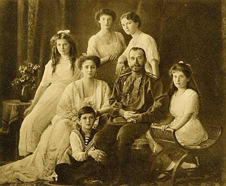 Familia Romanov - Sfintii Mucenici