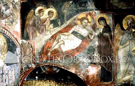 Somnul lui Iisus in Proscomidiar