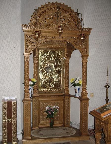Icoana Maicii Domnului - Manastirea Hadambu