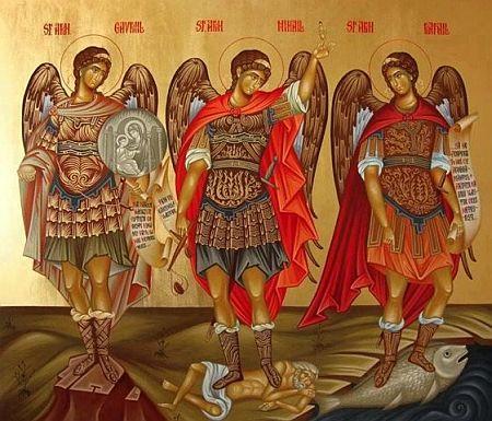 Sfintii Arhangheli Gavriil, Mihail si Rafail