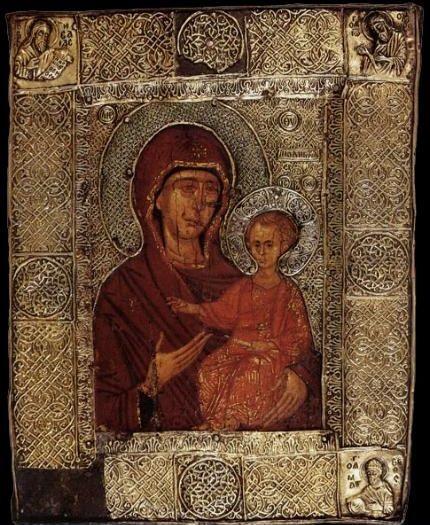 Icoana Maicii Domnului - Elaiovrytissa - Izvoratoarea de Mir si Untdelemn