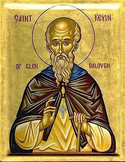 Sfantul Cuvios Kevin din Glendalough