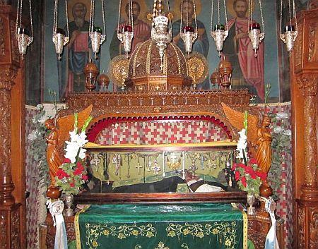 Sfantul Cuvios Sava cel Sfintit