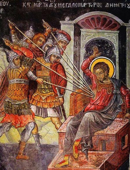 Sfantul Mare Mucenic Dimitrie - Izvoratorul de Mir