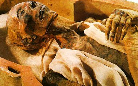 Trupuri neputrezite - Mumiile