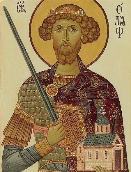 Sfantul Olaf - Olav al Norvegiei