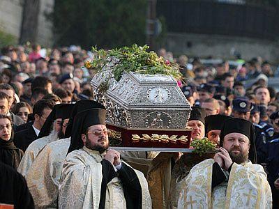 Vesmantul Sfintei Cuvioase Parascheva