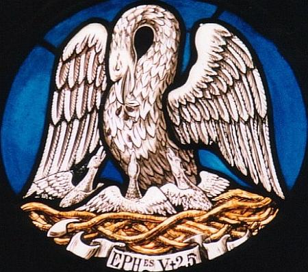 Pelicanul - Chip al Mantuitorului Iisus Hristos
